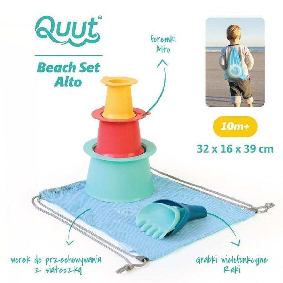QUUT - Set plażowy Alto + Raki w worku - Esy Floresy