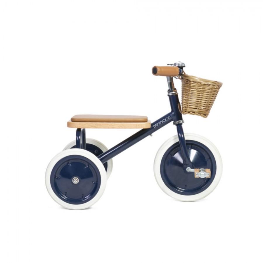 Banwood - Rowerek trójkołowy Trike Navy Blue - Esy Floresy