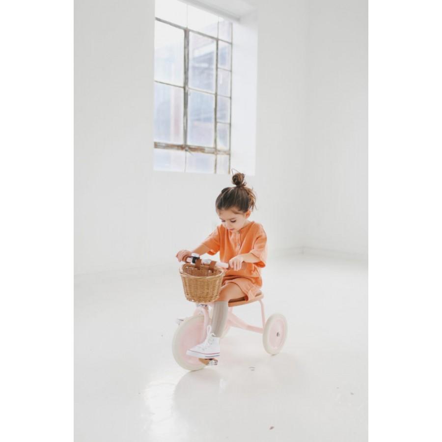 Banwood - Rowerek trójkołowy Trike Pink - Esy Floresy