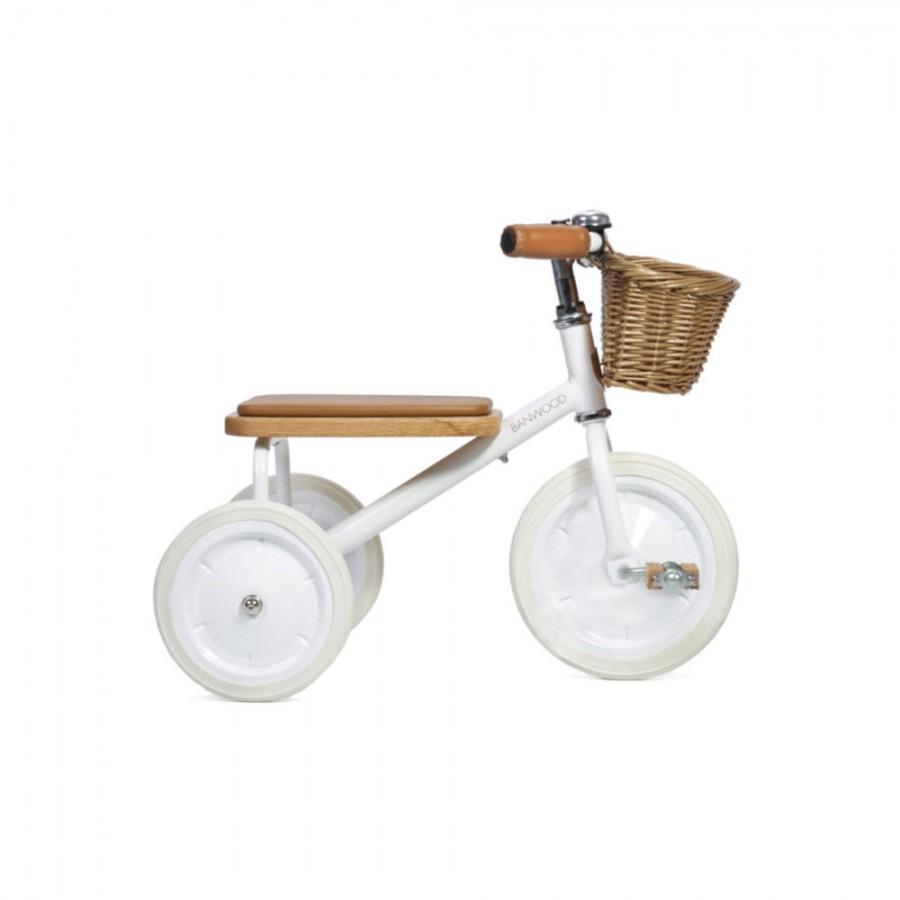 Banwood - Rowerek trójkołowy Trike White - Esy Floresy