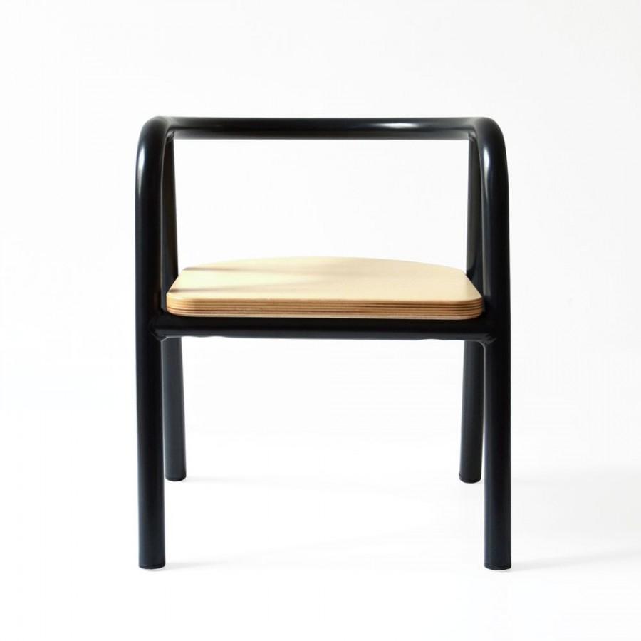 Charlie Crane - Krzesełko dziecięce Hito Black - Esy Floresy