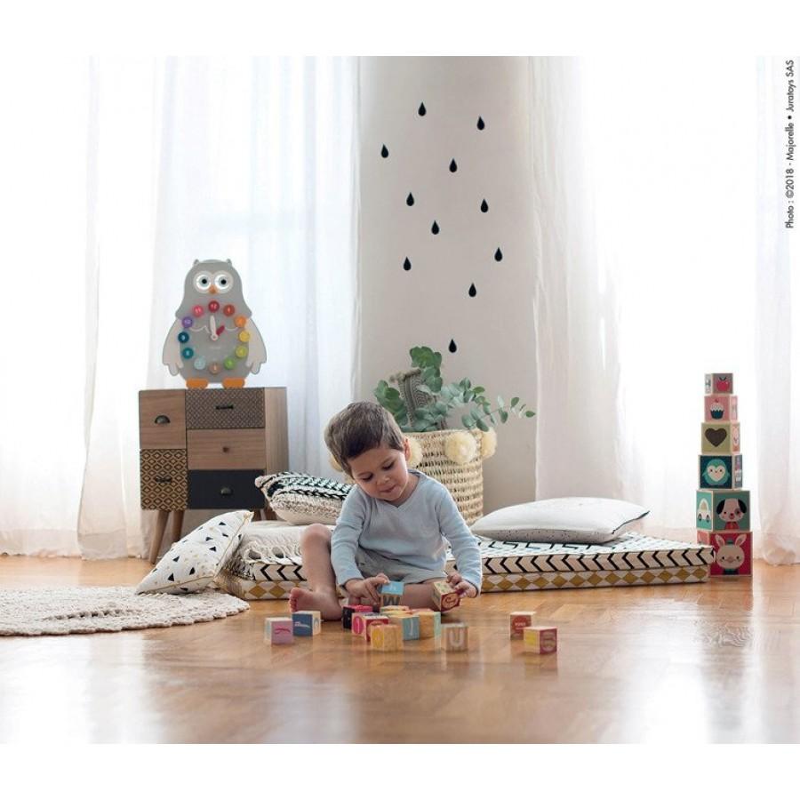 Janod - Piramida wieża drewniana Baby Forest - Esy Floresy