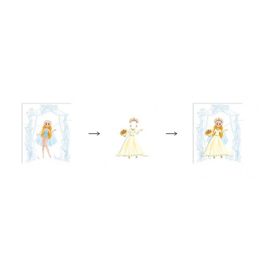 Janod - Zeszyt/kołonotatnik kreatywny Pokaz mody Ślub - Esy Floresy