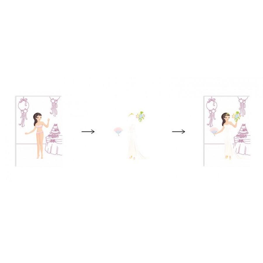 Janod - Zeszyt artystyczny Pokaz mody Nowożeńcy - Esy Floresy