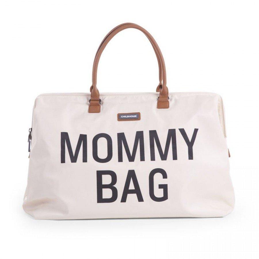 Childhome - Torba Podróżna Mommy Bag Kremowa | Esy Floresy