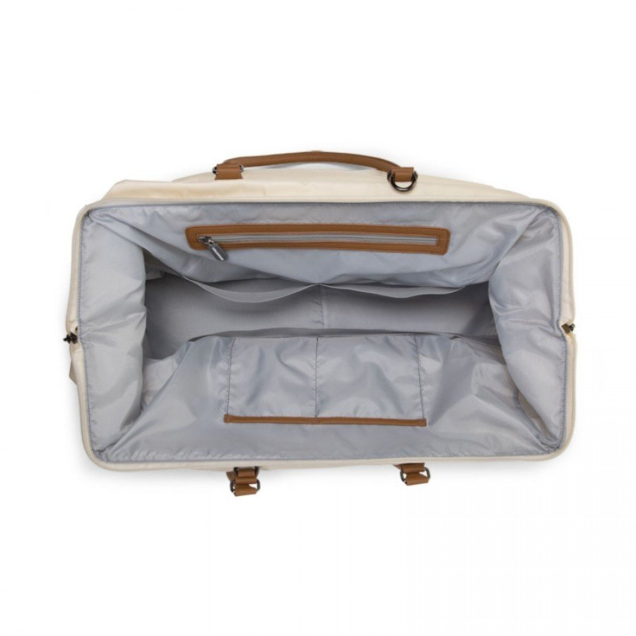 Childhome - Torba Podróżna Mommy Bag Kremowa - Esy Floresy