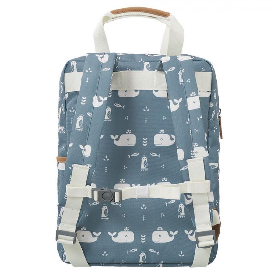 Fresk - Duży plecak Wieloryb Blue fog - Esy Floresy