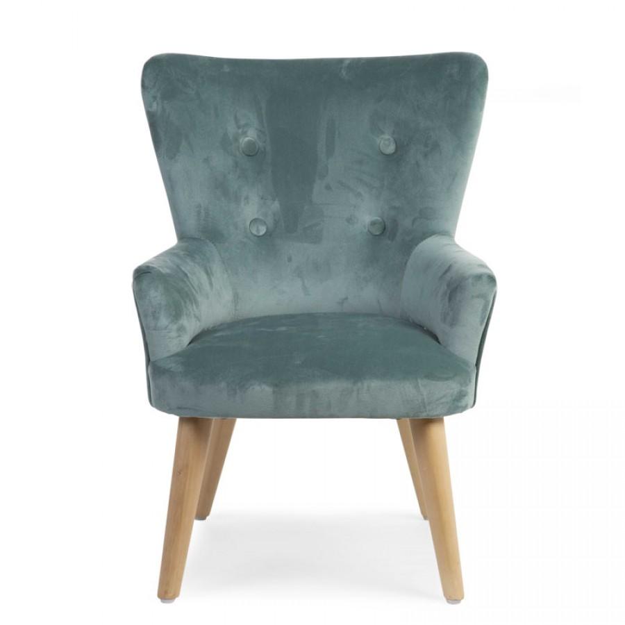 Childhome - Sofa pojedyncza Velvet Green - Esy Floresy