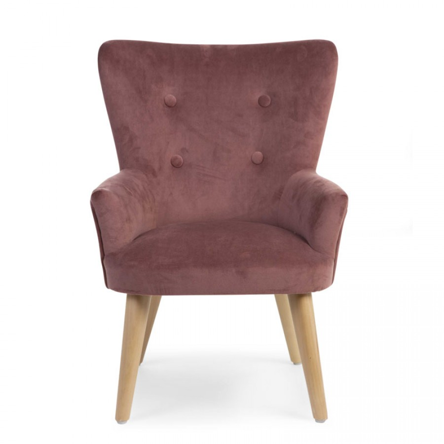 Childhome - Sofa pojedyncza Velvet Rosa - Esy Floresy