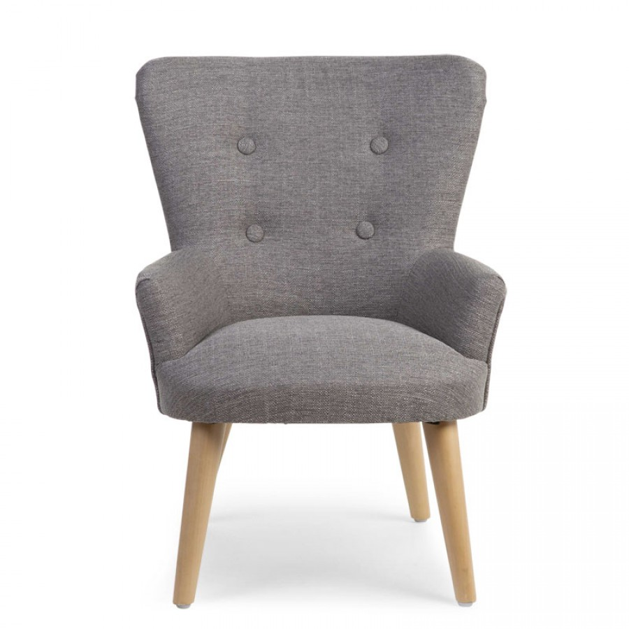 Childhome - Sofa pojedyncza Velvet Grey - Esy Floresy