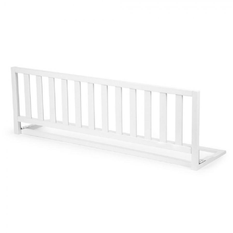 Childhome - Drewniana barierka do łóżka 120 cm White - Esy Floresy