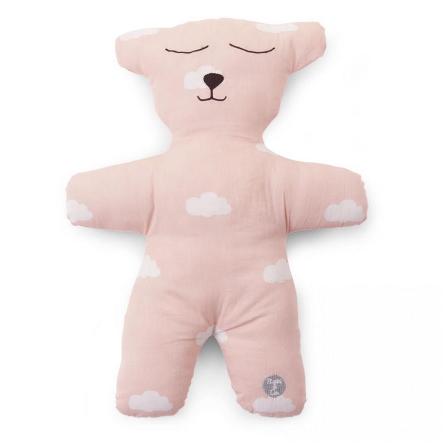Childhome - Pluszowa poduszka Miś różowy - Esy Floresy