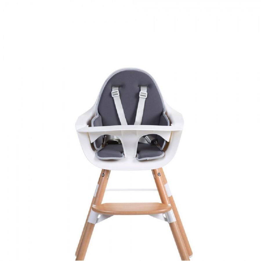 Childhome - Ochraniacz neoprenowy do krzesełka Evolu 2 Dark Grey - Esy Floresy