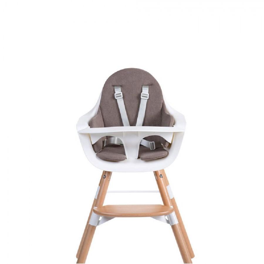 Childhome - Ochraniacz Frotte do krzesełka Evolu 2 Warm Grey - Esy Floresy