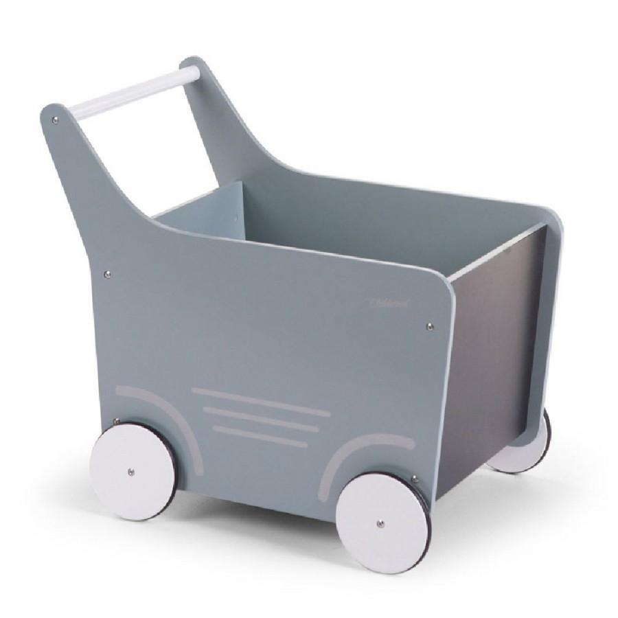 Childhome - Drewniany pchaczek na zabawki Mint - Esy Floresy