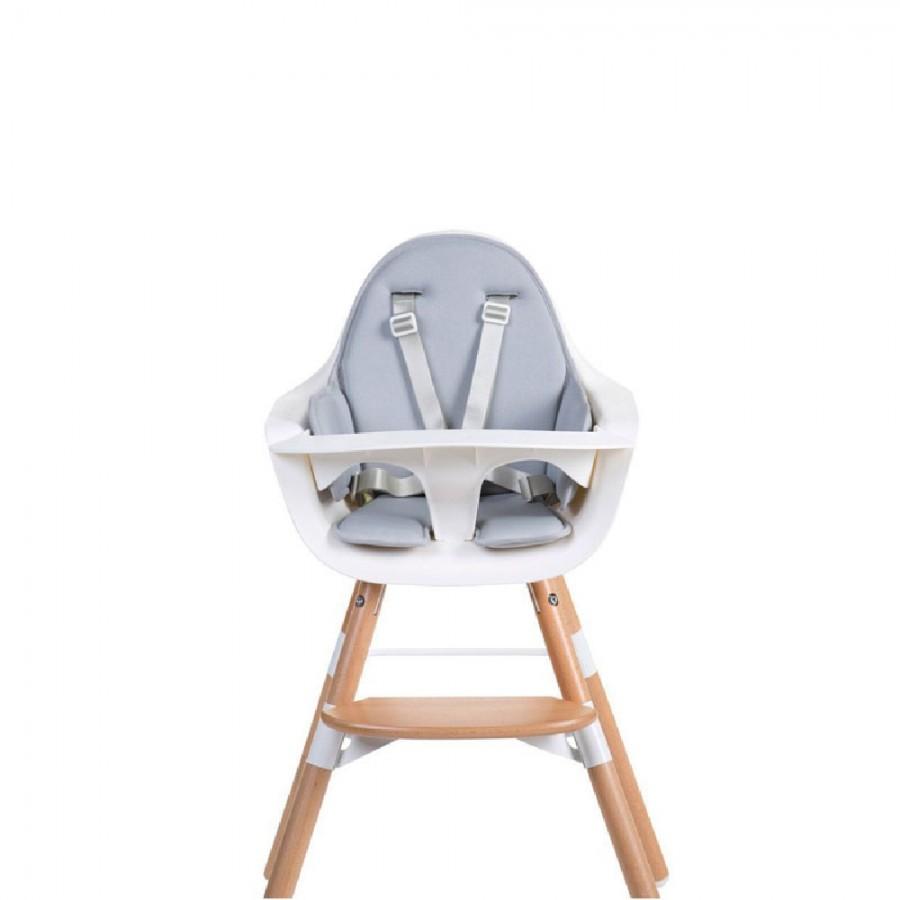 Childhome - Ochraniacz neoprenowy do krzesełka Evolu 2 Light Grey - Esy Floresy