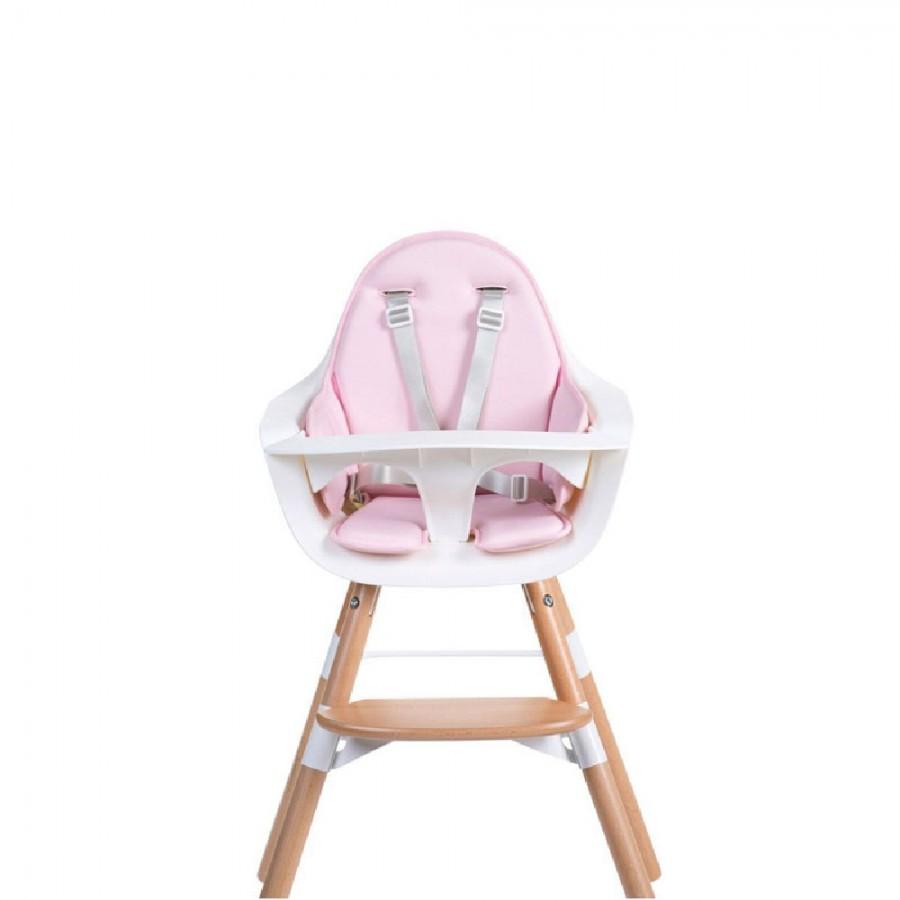 Childhome - Ochraniacz neoprenowy do krzesełka Evolu 2 Pink - Esy Floresy