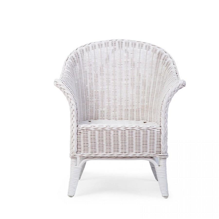 Childhome - Fotel wiklinowy dziecięcy Mimo White - Esy Floresy