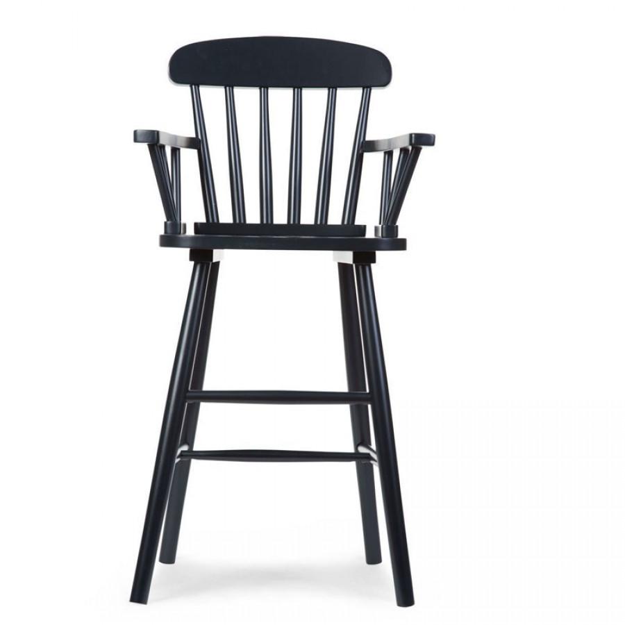 Childhome - Krzesełko wysokie dziecięce Atlas black - Esy Floresy