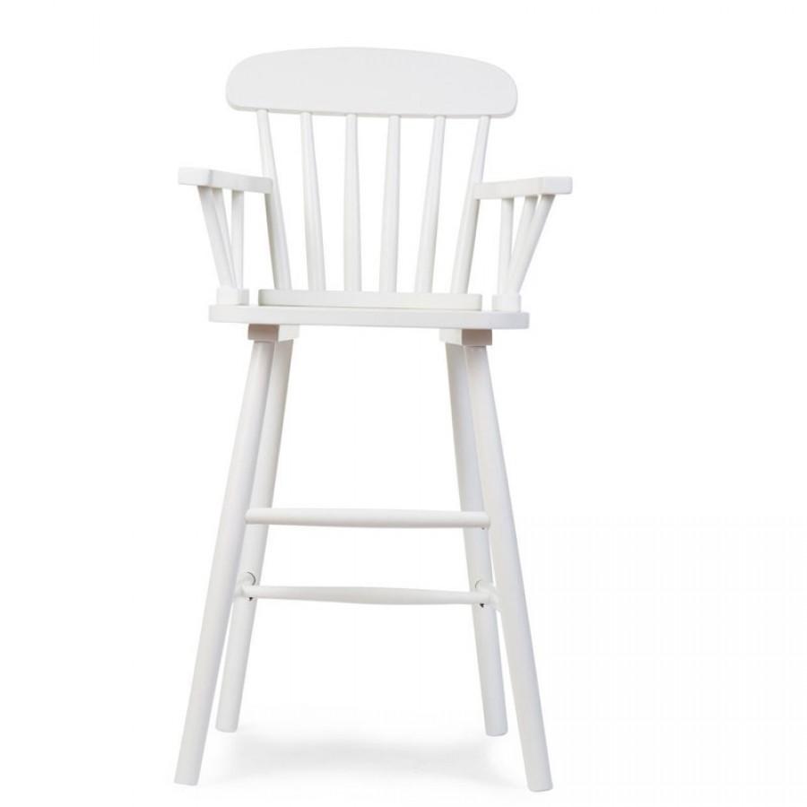 Childhome - Krzesełko wysokie dziecięce Atlas white - Esy Floresy