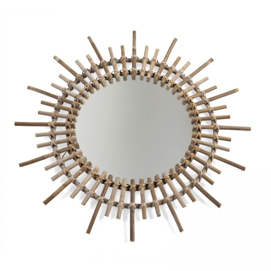 Childhome - Lustro rattanowe Fondi 60 cm - Esy Floresy