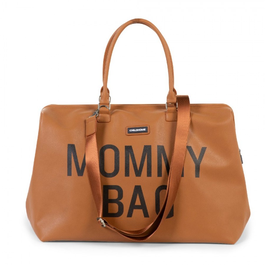 Childhome - Torba Mommy Bag Brązowa - Esy Floresy