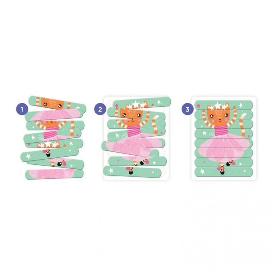 Mudpuppy - Puzzle Patyczki Tańczące baletnice 24 elementy 3+ - Esy Floresy