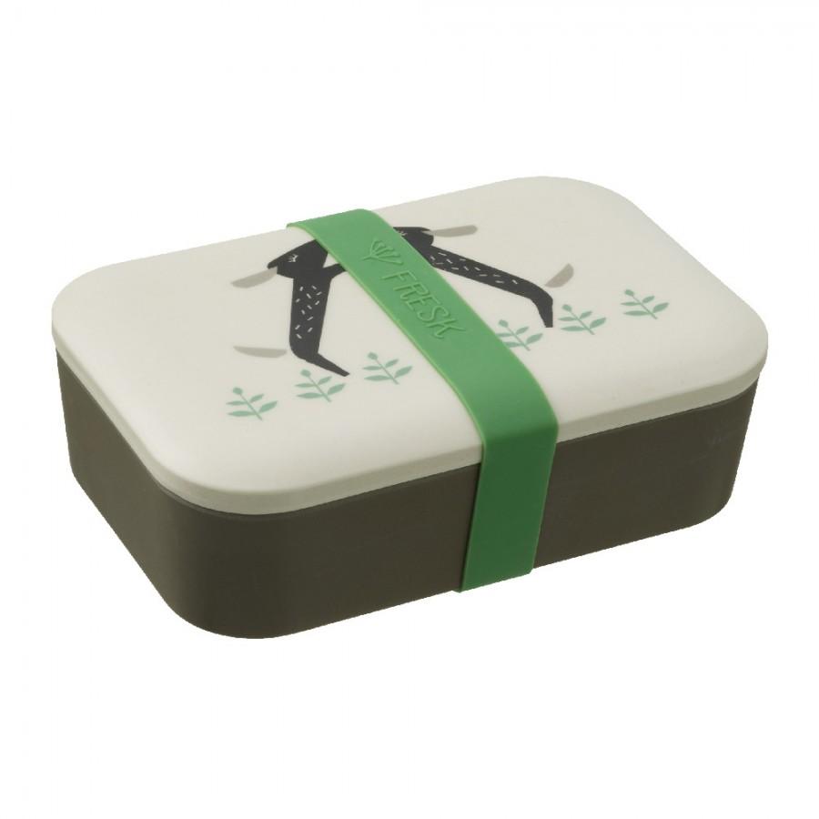 Fresk - Bambusowe pudełko śniadaniowe Piesek - Esy Floresy