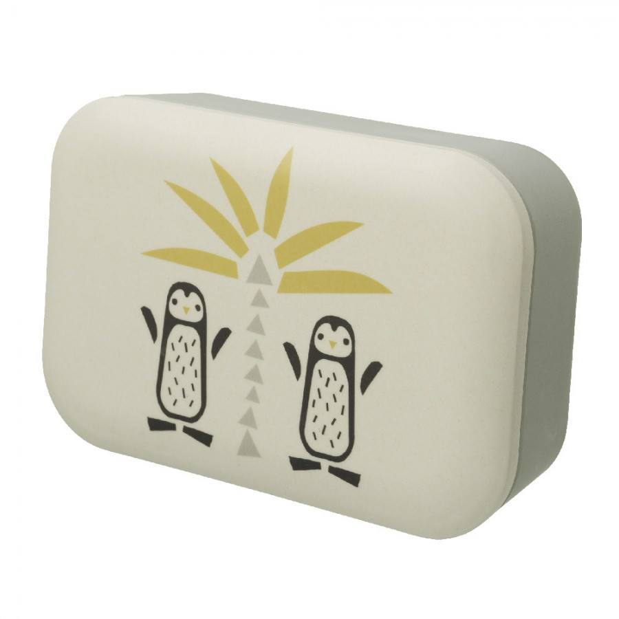 Fresk - Bambusowe pudełko śniadaniowe Pingwin - Esy Floresy