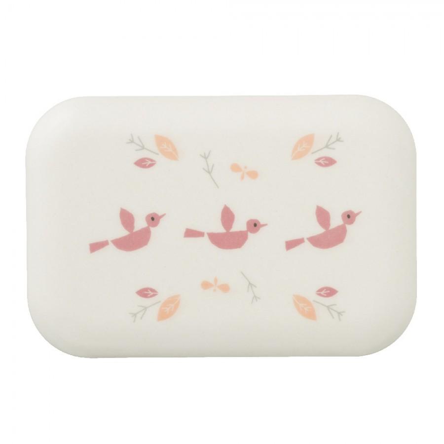 Fresk - Bambusowe pudełko śniadaniowe Ptaszki - Esy Floresy