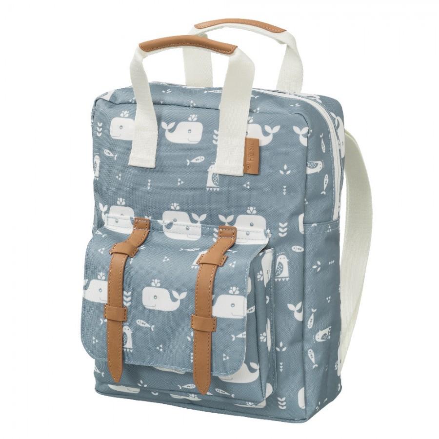 Fresk - Plecak Wieloryb niebieski - Esy Floresy