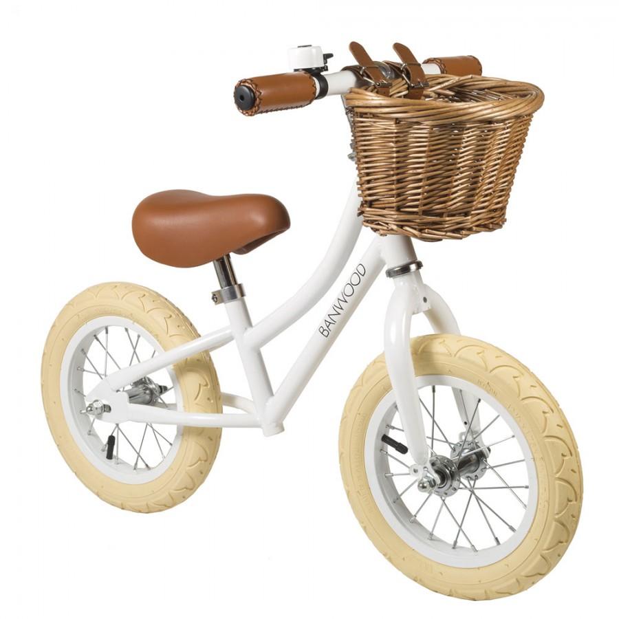Banwood - FIRST GO! rowerek biegowy White - Esy Floresy