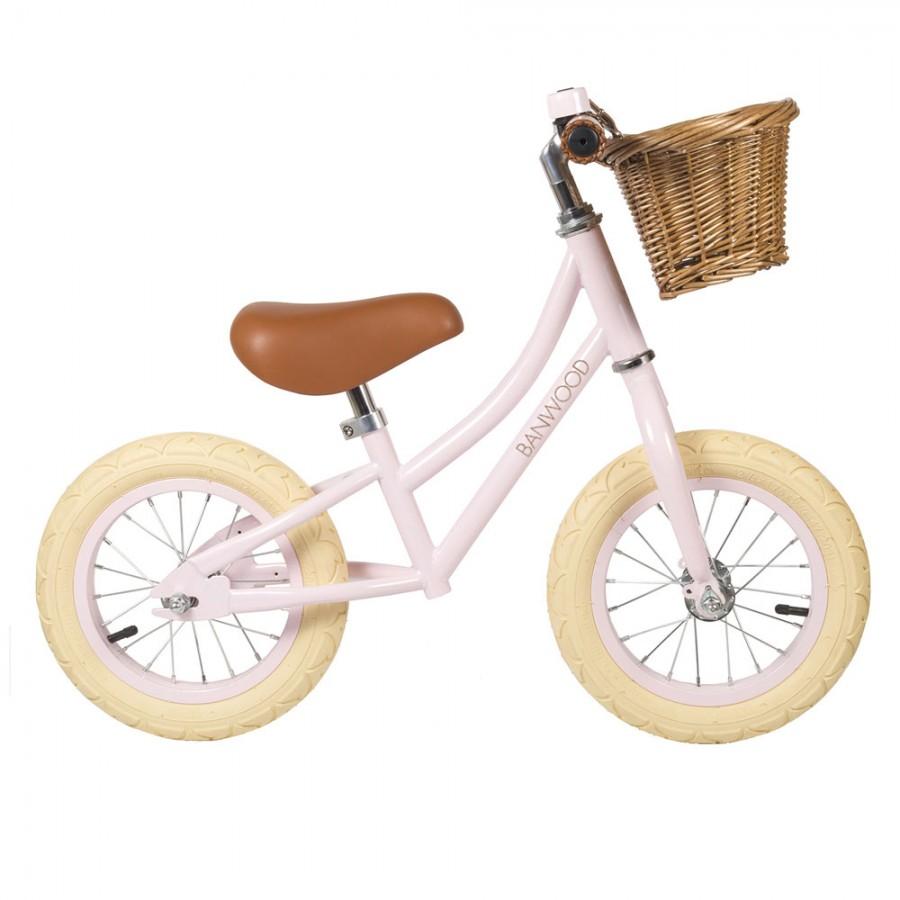 Banwood - FIRST GO! rowerek biegowy Pink - Esy Floresy