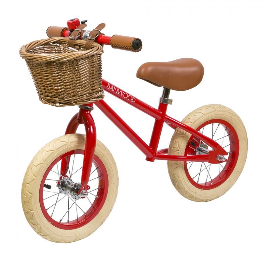 Banwood - FIRST GO! rowerek biegowy Red - Esy Floresy
