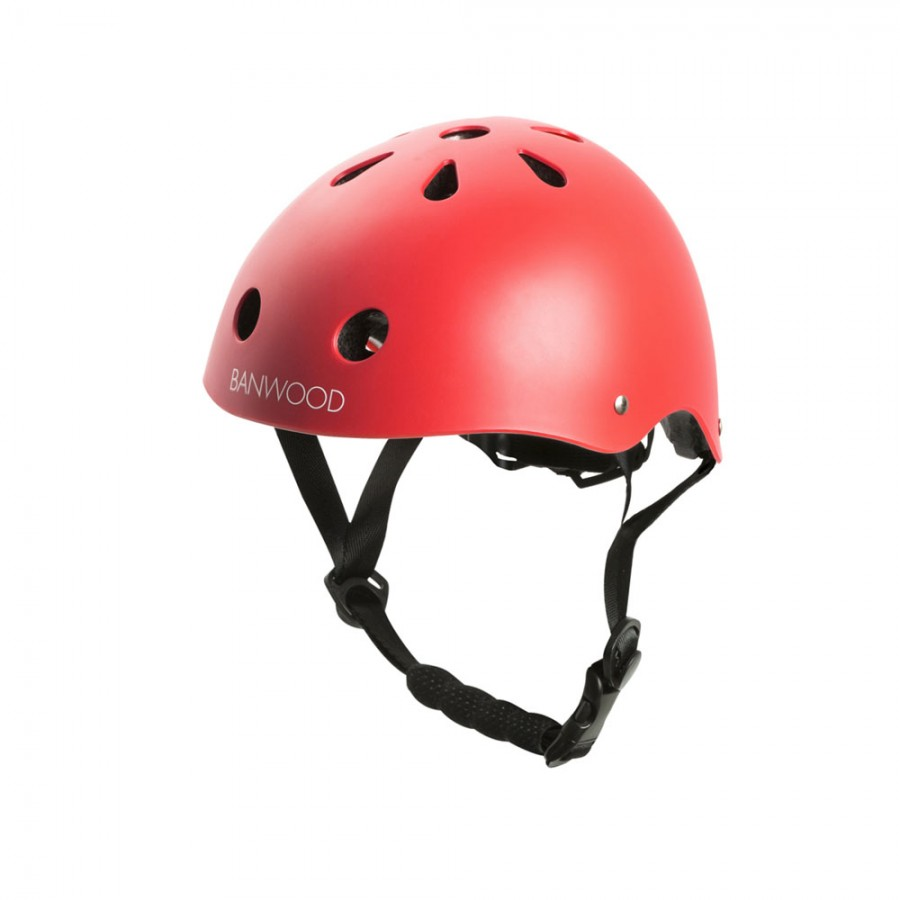 Banwood -Dziecięcy kask rowerowy Red - Esy Floresy