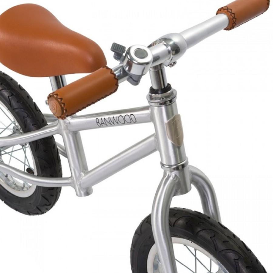 Banwood - FIRST GO! Rowerek biegowy Chrome - Esy Floresy