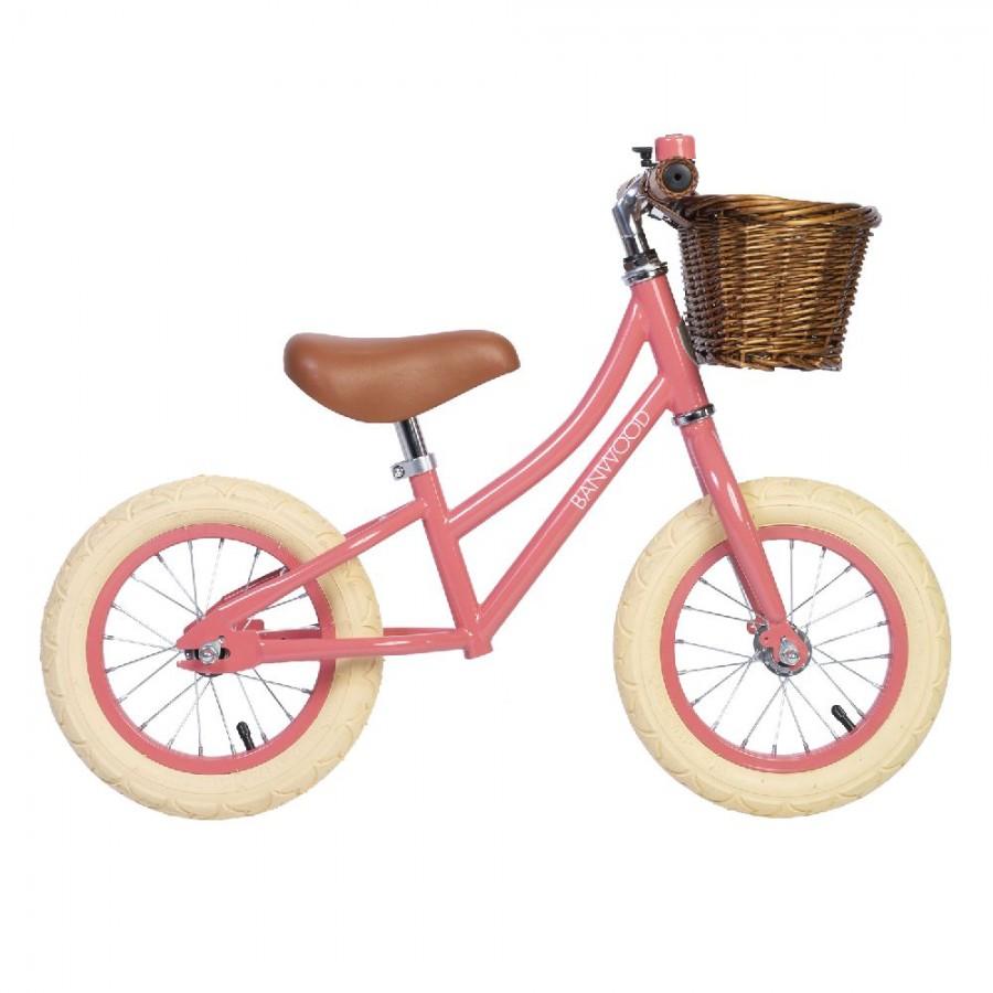 Banwood - FIRST GO! rowerek biegowy Coral - Esy Floresy