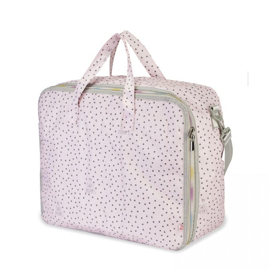 My Bag's - Torba Weekend Bag My Sweet Dream's pink - Esy Floresy
