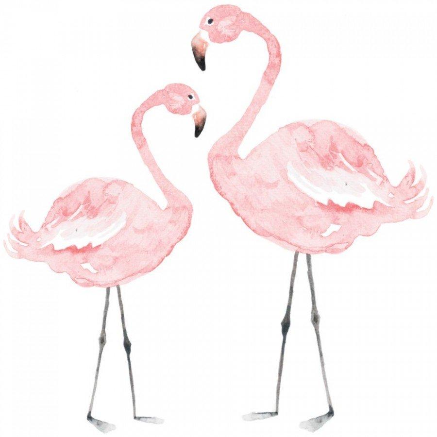 Dekornik - Naklejka Flamingi