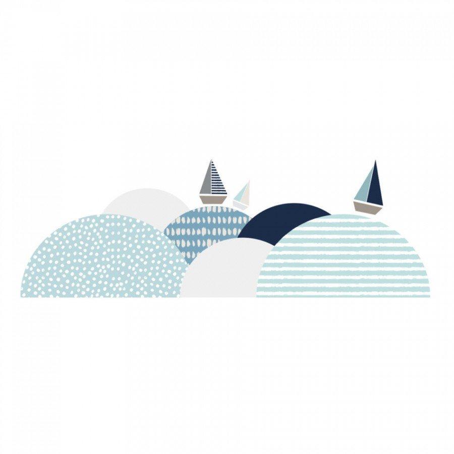Dekornik - Naklejka Południowe Fale | Esy Floresy
