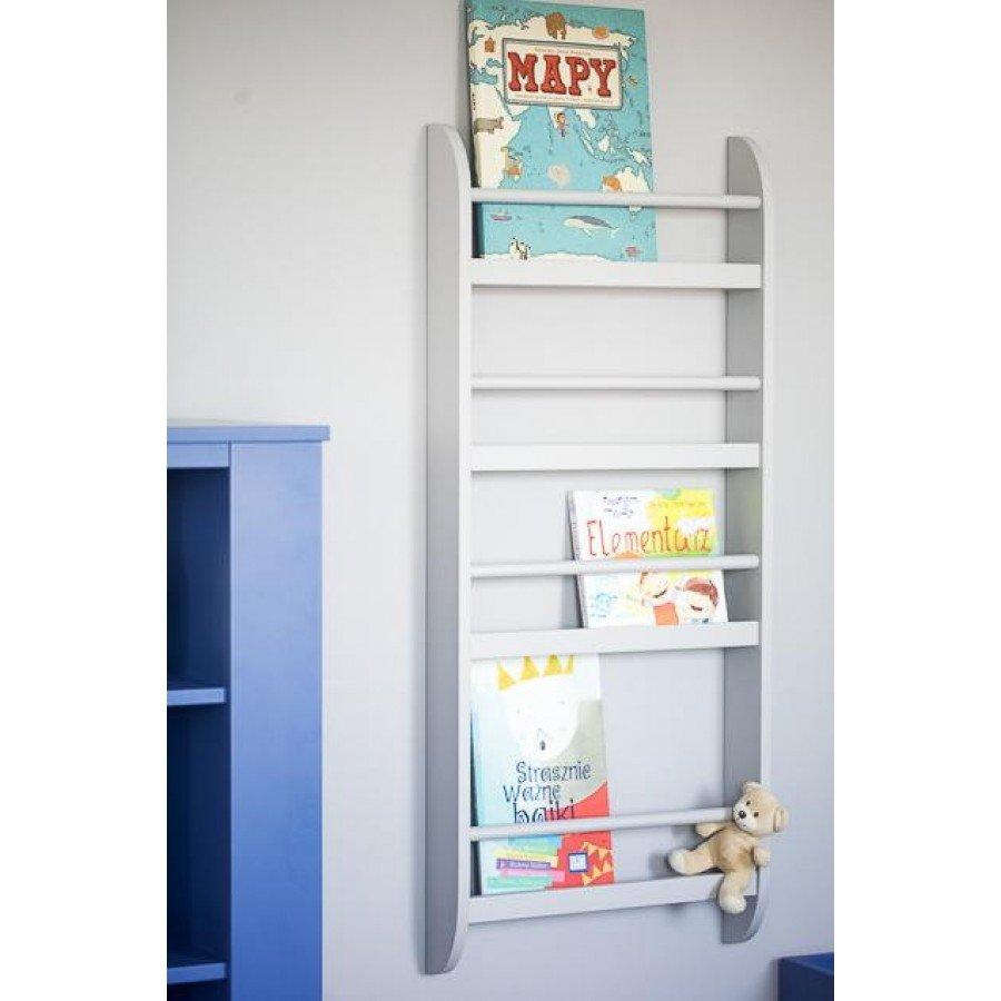 Sleep&Fun Półka wisząca na książki  - Biała - Esy Floresy