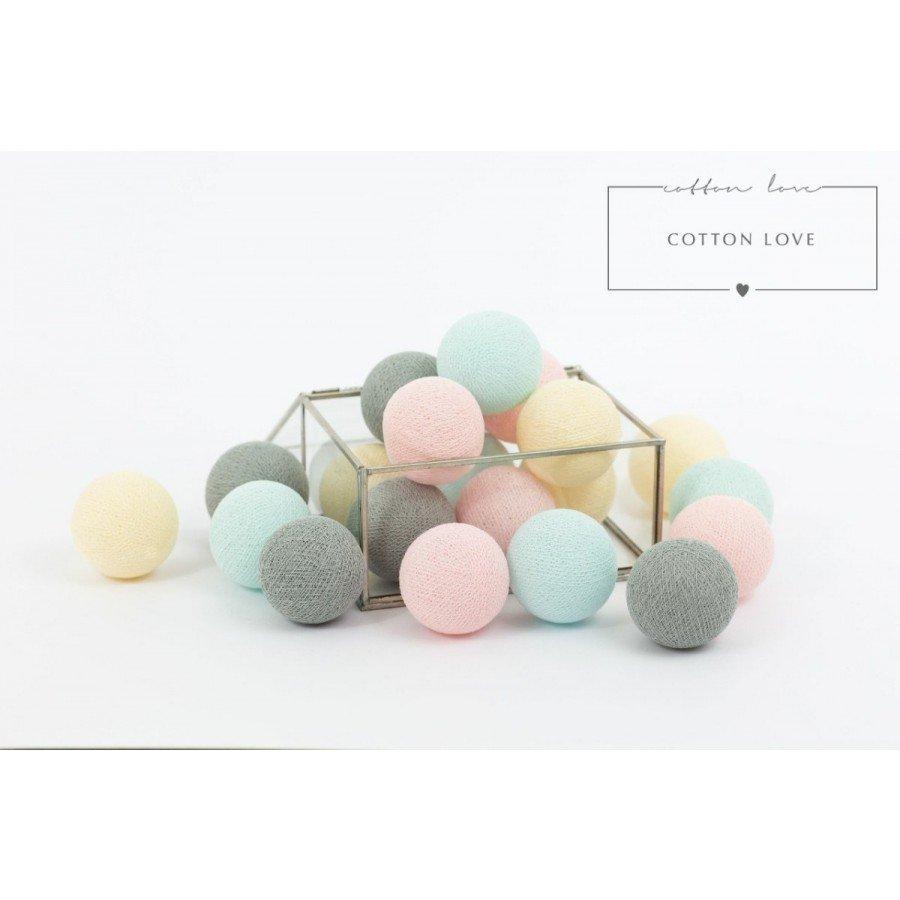 Cotton Balls Delikatne - 10 kul | Esy Floresy