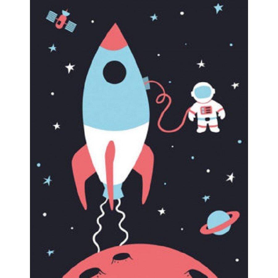 Bubu Studio Plakat Kosmos