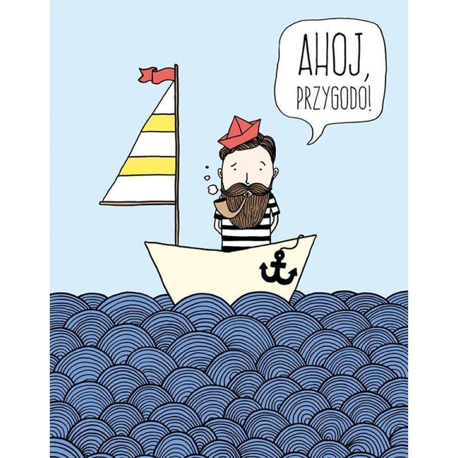 BuBu Studio Plakat - Ahoj Przygodo | Esy Floresy