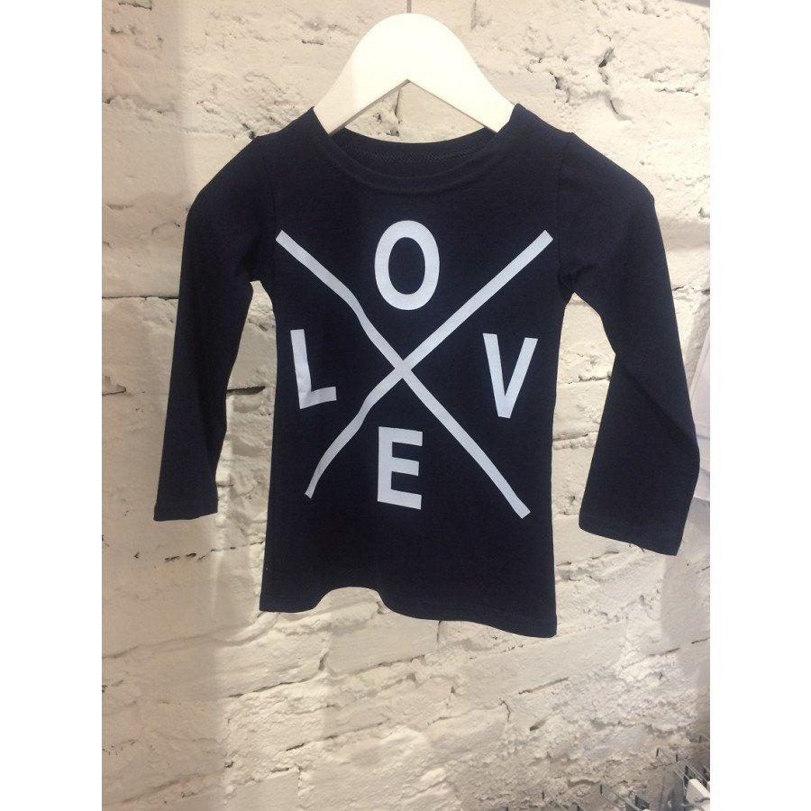 Holo Kids- Koszulka Love Granat | Esy Floresy