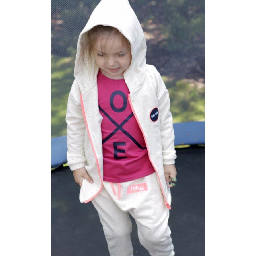 Holo Kids - Koszulka Love Różowa | Esy Floresy