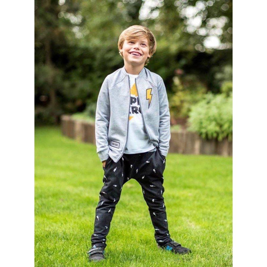 Holo Kids- Spodnie Pioruny Czarne | Esy Floresy