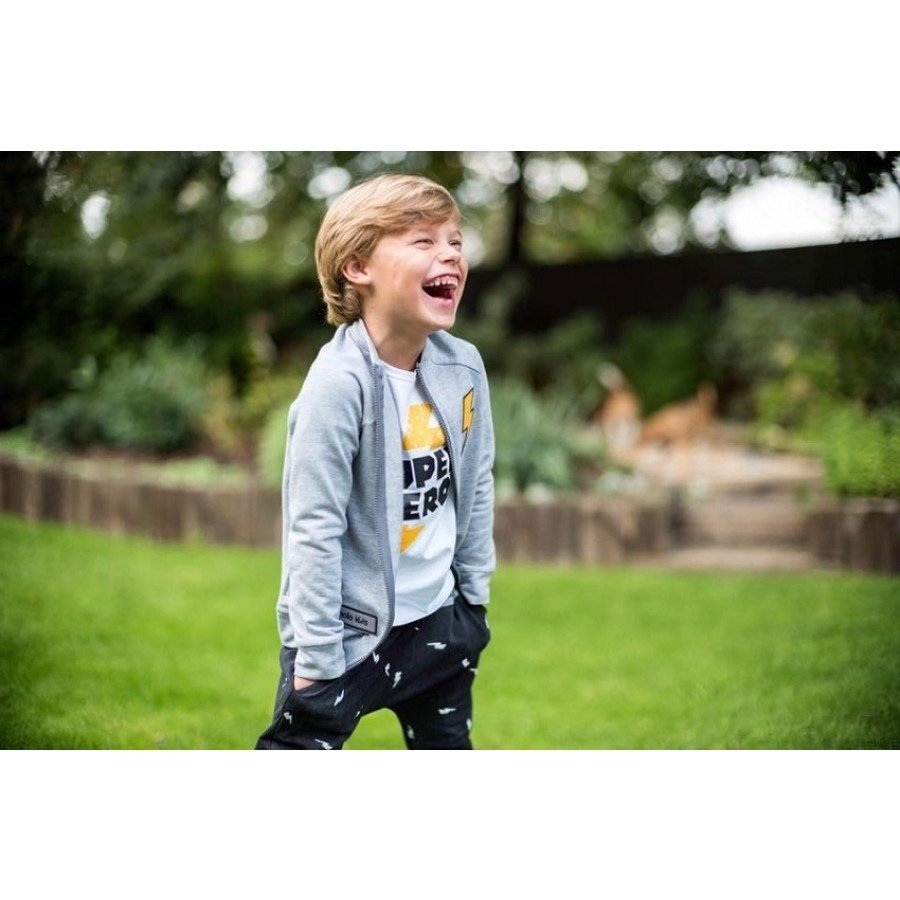 Holo Kids- Bluza Super Hero Szara | Esy Floresy