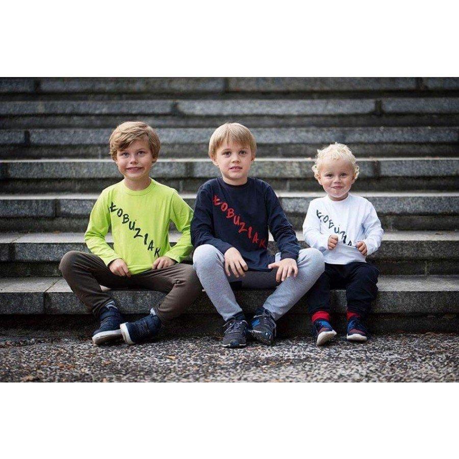 Holo Kids- Koszulka Łobuziak Biała  | Esy Floresy
