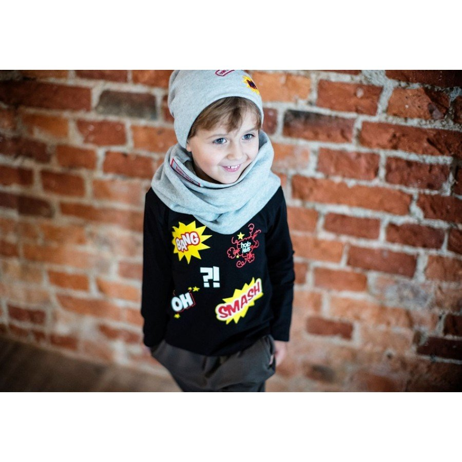 Holo Kids- Koszulka Bang Czarna | Esy Floresy